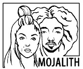 logo, blackandwhite, mojalith, couple, artists