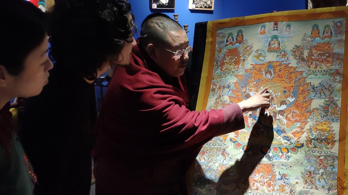 チベット紀行 / vol.01 / 宗教と芸術の関係